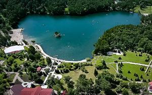 Озеро Ая-вид сверху