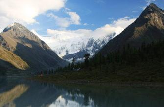 Озеро и Белуха